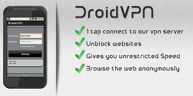 Secure Android Device with vpn